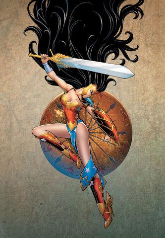 File:Ame-Comi Girls Featuring Wonder Woman Vol 1 1 Textless.jpg