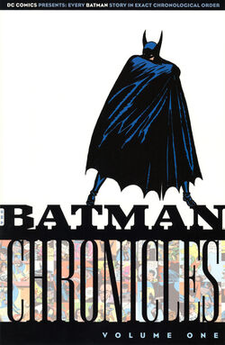 Cover for the Batman Chronicles Vol 1 Trade Paperback