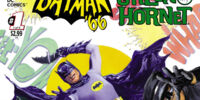Batman '66 Meets The Green Hornet/Covers