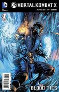 Mortal Kombat X Vol 1 1 Sub Zero