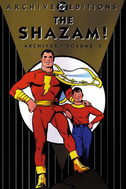 Cover for the The Shazam! Archives Vol. 3 Trade Paperback