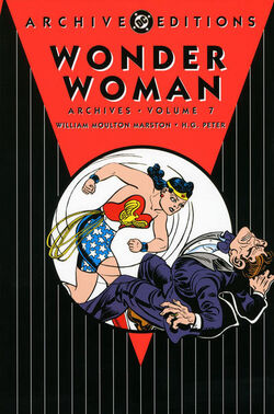 Cover for the Wonder Woman Archives Vol. 7 Trade Paperback