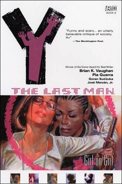 Cover for the Y: The Last Man: Girl on Girl Trade Paperback