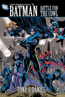 Cover for the Batman: Battle for the Cowl Trade Paperback