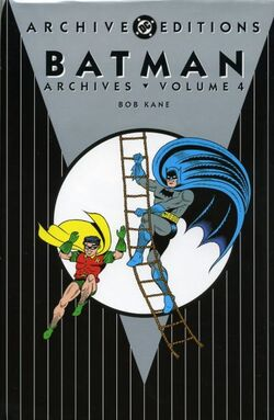 Cover for the Batman Archives Vol 4 Trade Paperback