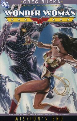 Cover for the Wonder Woman: Mission's End Trade Paperback