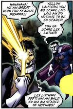 Bizarro Green Lantern 001