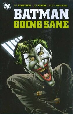 Cover for the Batman: Going Sane Trade Paperback