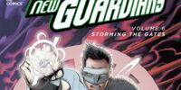 Green Lantern: New Guardians: Storming the Gates (Collected)