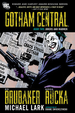 Cover for the Gotham Central Book Two: Jokers and Madmen Trade Paperback
