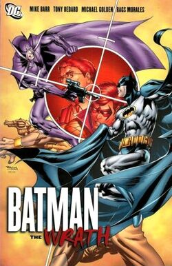 Cover for the Batman: The Wrath Trade Paperback