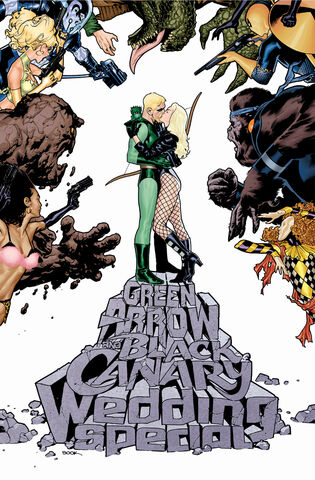 File:Green Arrow and Black Canary Wedding Special Textless Variant.jpg