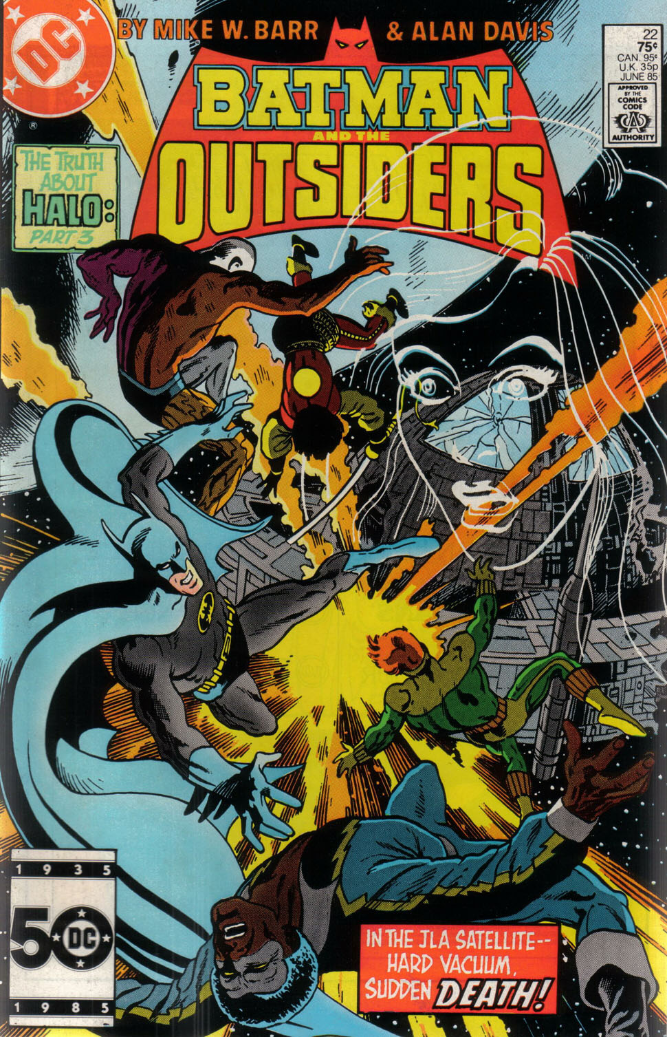 Batman And The Outsiders Vol 1 22 Dc Database Fandom