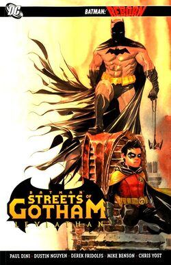 Cover for the Batman: Streets of Gotham: Leviathan Trade Paperback