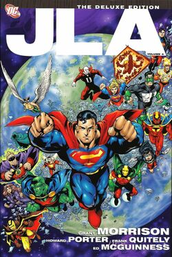 Cover for the JLA Vol. 4 Trade Paperback