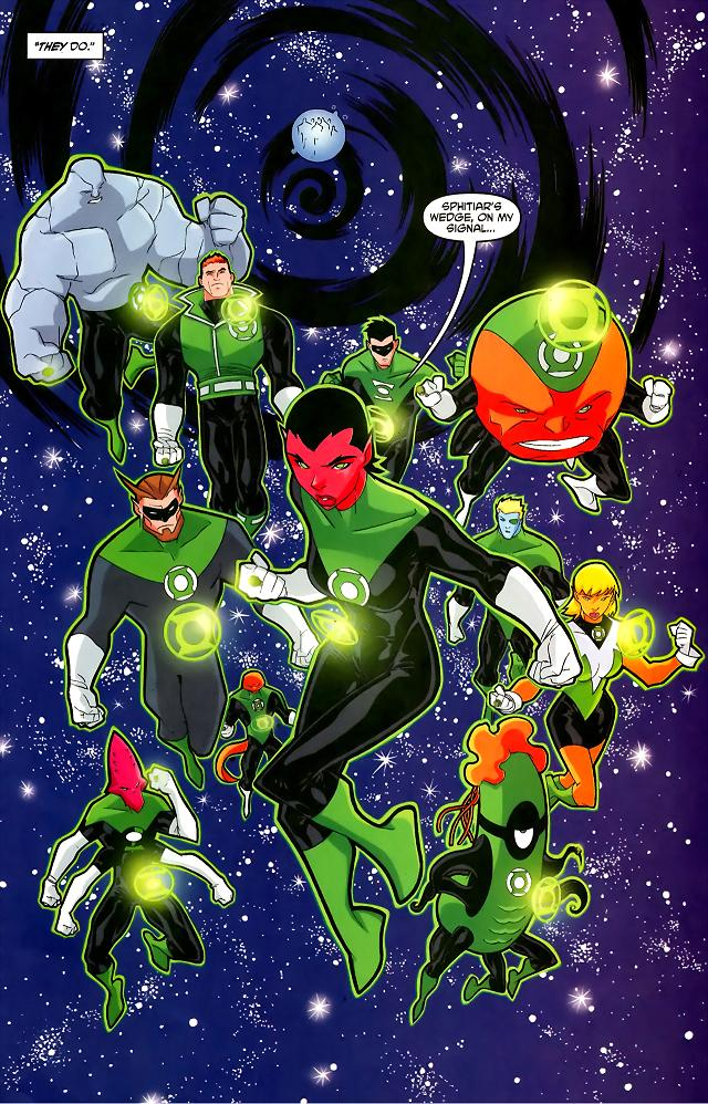 Green Lantern Corps (DCAU) | DC Database | FANDOM powered ...