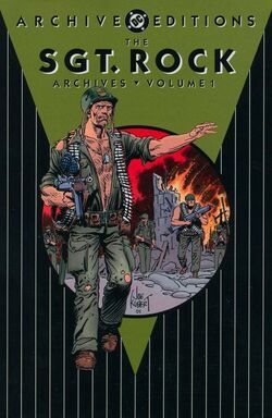 Cover for the Sgt. Rock Archives Vol. 1 Trade Paperback
