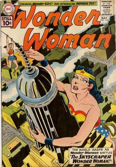 Image result for skyscraper wonder woman
