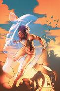 Justice League of America Vixen Rebirth Vol 1 1 Textless Variant