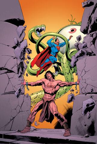 File:Superman Blood of My Ancestors Vol 1 1 Textless.jpg