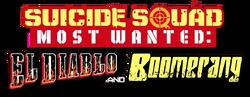 Suicide Squad Most Wanted- El Diablo and Boomerang (2016) logo