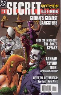Batman Villains Secret Files and Origins 1