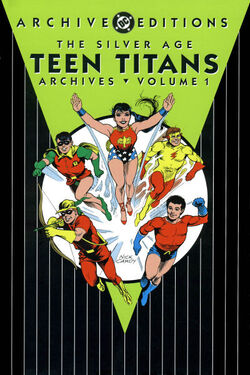 Cover for the Silver Age Teen Titans Archives Vol 1 Trade Paperback