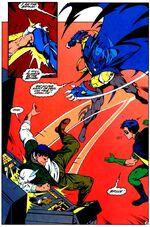 Bruce Wayne confronts Azrael