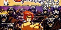 Thundercats: Enemy's Pride/Covers