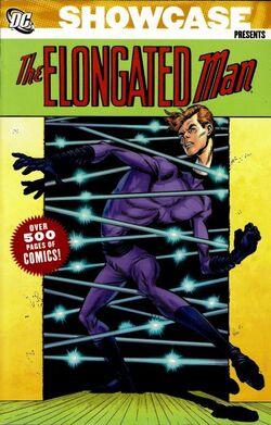 Cover for the Showcase Presents: Elongated Man Vol. 1 Trade Paperback