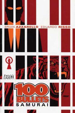 Cover for the 100 Bullets: Samurai Trade Paperback