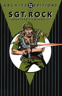 Cover for the Sgt. Rock Archives Vol. 3 Trade Paperback