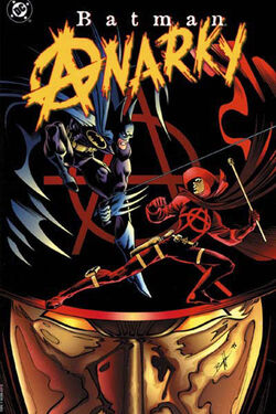 Cover for the Batman: Anarky Trade Paperback