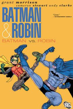 Cover for the Batman and Robin: Batman vs. Robin Trade Paperback