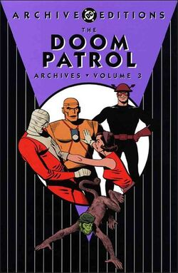 Cover for the Doom Patrol Archives Vol. 3 Trade Paperback
