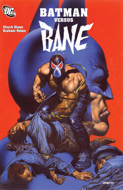 Cover for the Batman Versus Bane Trade Paperback