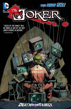 Cover for the The Joker: Death of the Family Trade Paperback