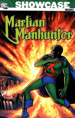 Cover for the Showcase Presents: Martian Manhunter Vol 1 Trade Paperback
