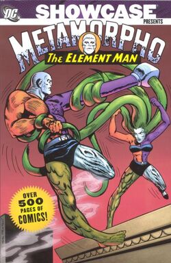 Cover for the Showcase Presents: Metamorpho Vol. 1 Trade Paperback