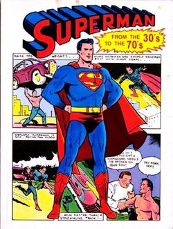 Cover for the Superman: From the 30's to the 70's Trade Paperback