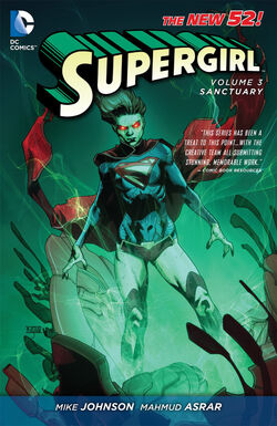 Cover for the Supergirl: Sanctuary Trade Paperback