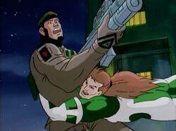 Rictor Tackles Genoshan Guard