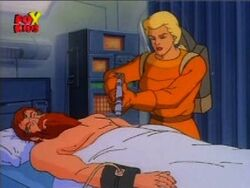 Betty Injects Homeless