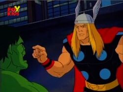 Thor Orders Hulk