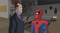 Norman Reasons With Spider-Man SSM