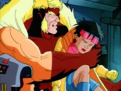 Sabretooth Teaches Jubilee Lesson