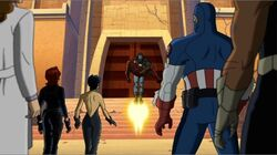 Avengers See Giant Man Injured UA2