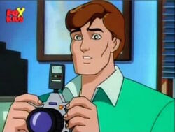 Peter Holds Camera
