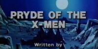 Pryde of the X-Men (TV Pilot)