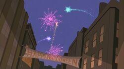 Bleecker Fireworks Show SSM